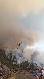 El incendio forestal de La Palma asumido por el Gobierno de Canarias
