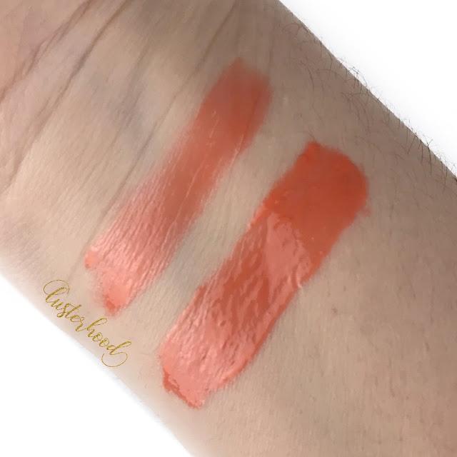 Osmosis Colour Bellini Lip Gloss Swatch     Lusterhood