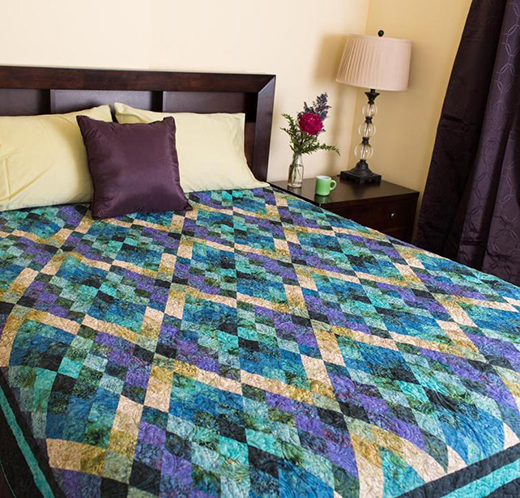 Argyll Quilt Free Pattern designed by Jinny Beyer