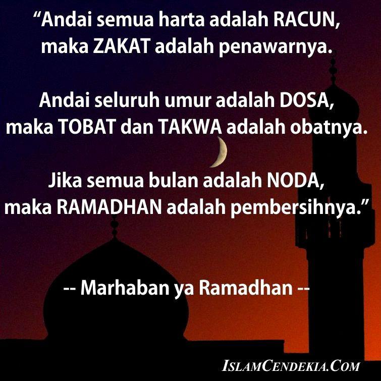 15 Kata Kata Mutiara Terbaik Menyambut Bulan Ramadhan Islam Cendekia