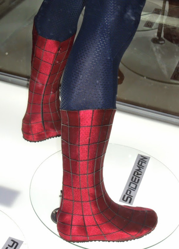 Amazing Spiderman 2 movie costume boots