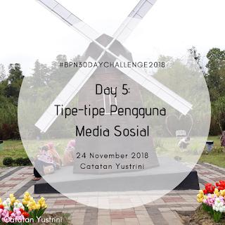 Tipe-tipe Pengguna Media Sosial