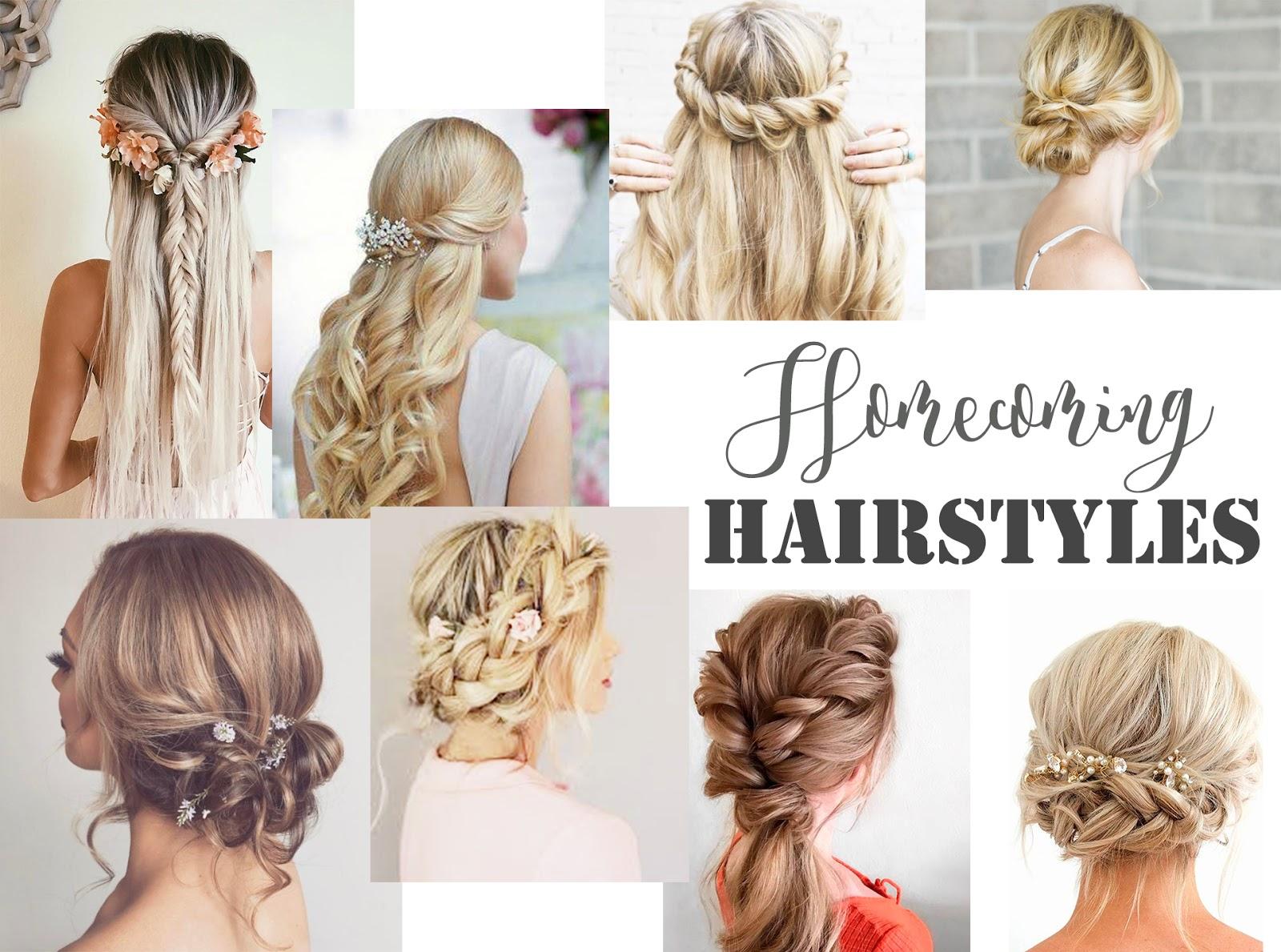 Shopping: Homecoming Hairstyles - Crystal Chiffon