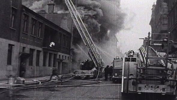 Glasgow Fire Journal Cheapside 1960