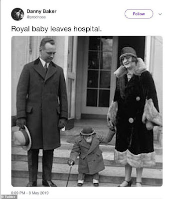 Danny Baker blasts  BBC after they fire him for posting 'offensive' monkey tweet over birth of Royal baby Archie
