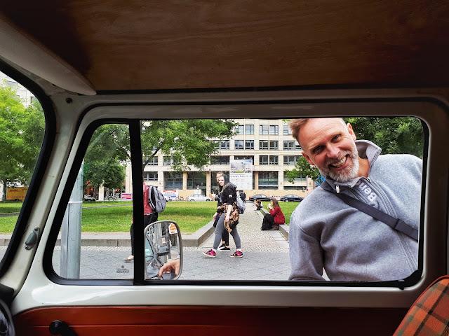 Berlin Bulli Tour passenger 1 Volker 'Der Viking'