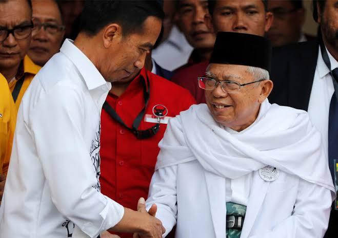 Kampanye di Jogja, Cara KH Ma'ruf Amin Komentari Calon Lain Disesalkan