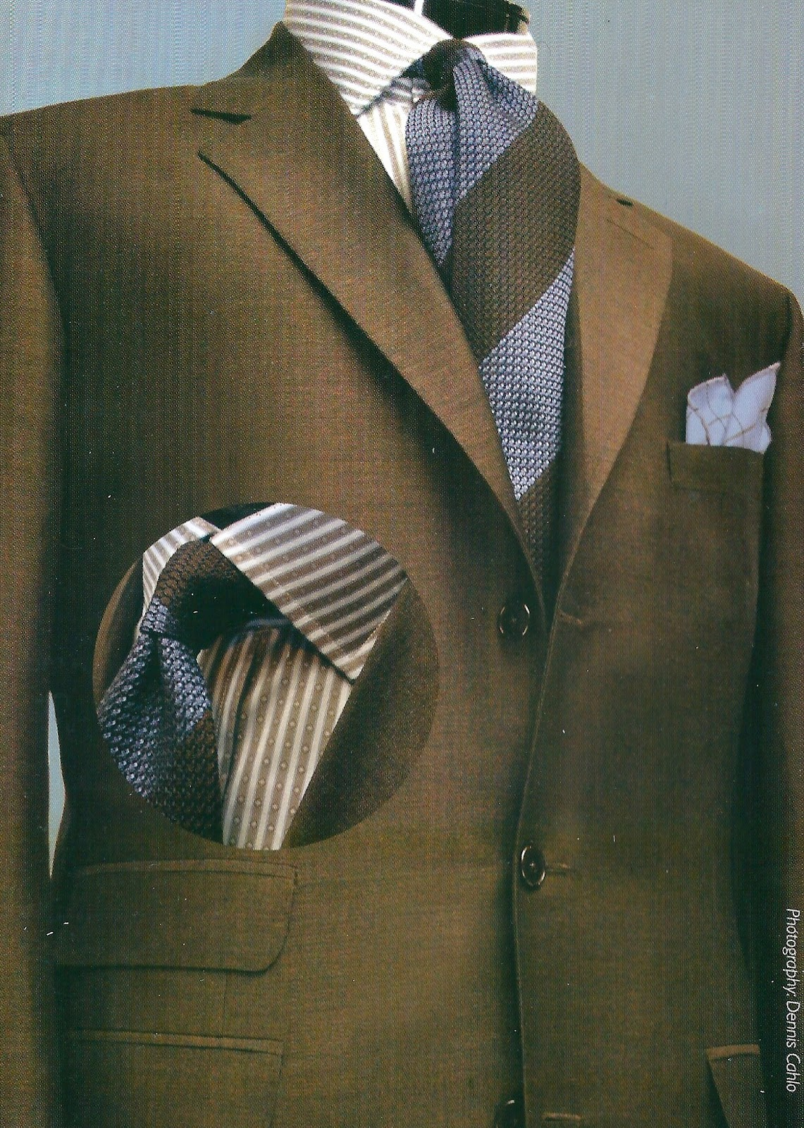 Blue and brown suit combinations – Permanent Style