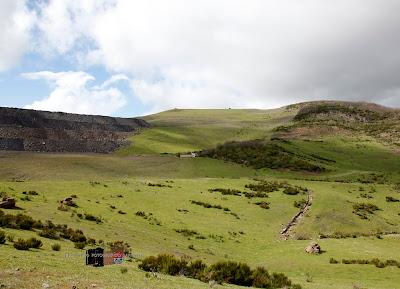 Restauración de una mina a cielo abierto en Ciñera
