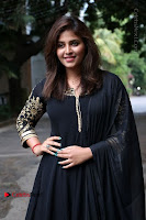 Anjali Latest Stills in Black Anarkali Dress at Taramani Success Meet .COM 0005.jpg