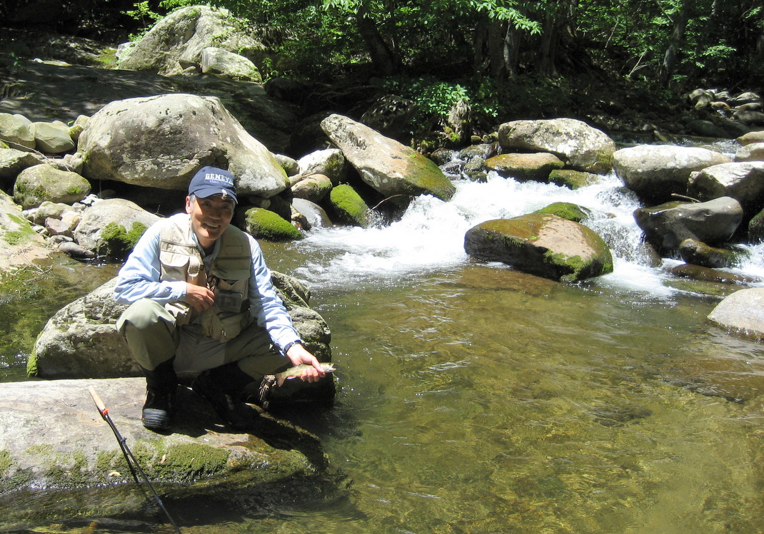 Going to the water tenkara fishing 2016 season for Shenandoah national park fishing