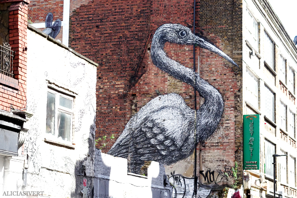 aliciasivert, Alicia Sivertsson, London, england, semester, vacation, holiday, roa, street art, gatukonst, graffiti