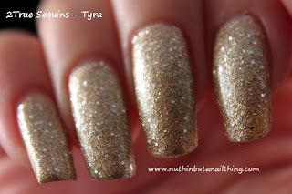 2True Sequins Glitter Nail Polish