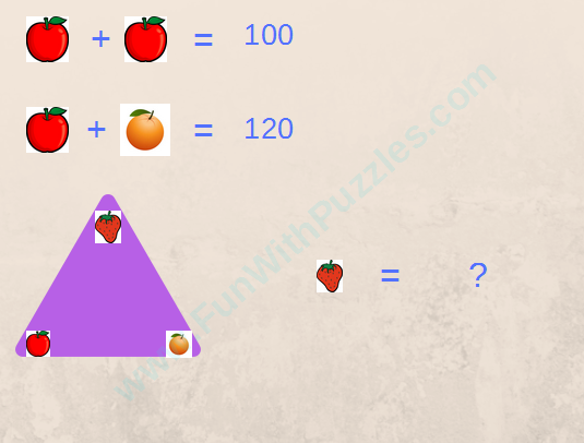 Math Equations Triangle Picture Puzzle