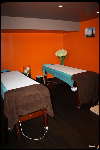 salle de massage au MamaBali spa à Paris
