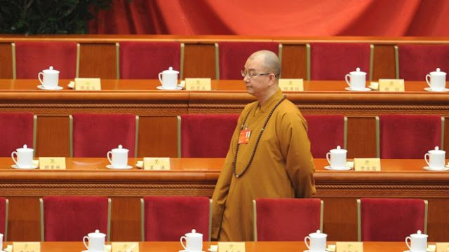 Ketua Asosiasi Umat Buddha Cina Dituduh Paksa Biksu Perempuan Berhubungan Seks