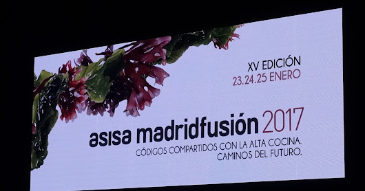 Photo Album of Asisa Madrid Fusión 2017: The Shared Codes of Haute Cuisine, Paths of the Future, 15th Anniversary Edition, January 23-25, 2017