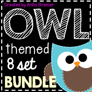 Over 100 pages of Owl Themed activities and classroom decor!