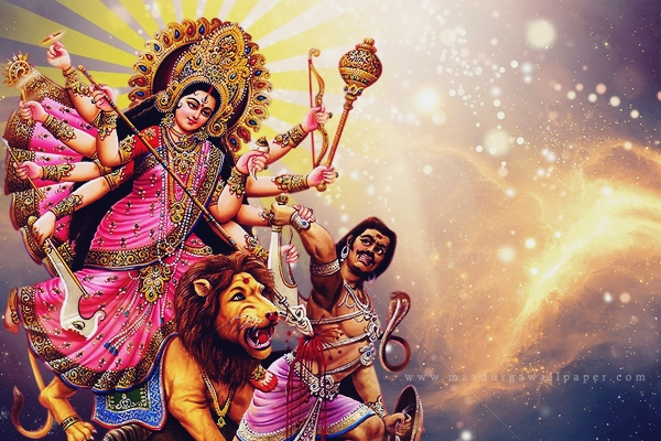Happy Durga Puja Wishes in English Quotes with Images 2017