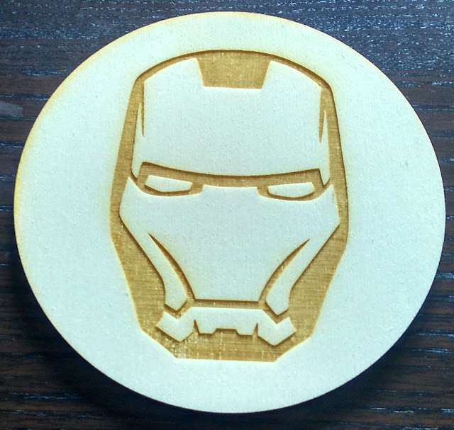 Podstawki 9cm Avengers iron man