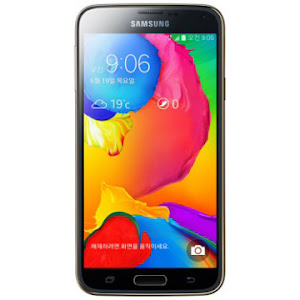 Samsung Galaxy S5 LTE-A front