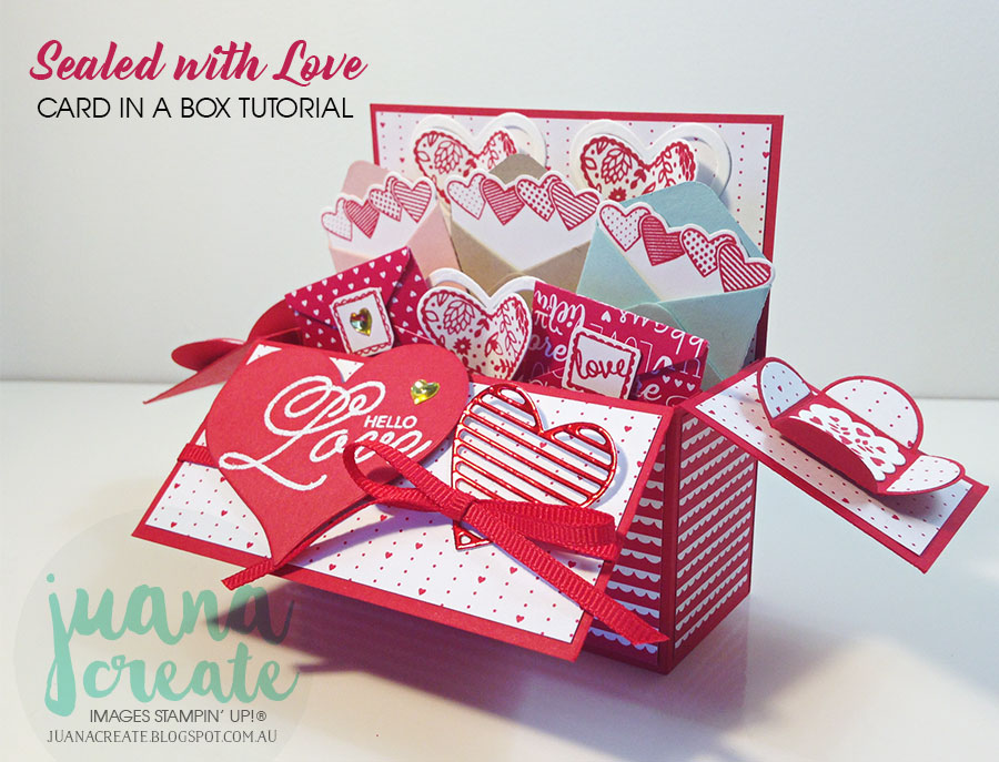 Fabelhaft Juana Ambida: Sealed With Love Card in a Box Tutorial &YS_62