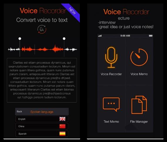 烏心石無料の情報: iOS 限時免費 App 推薦:《語音便簽:錄音機》語音轉文字錄音軟體