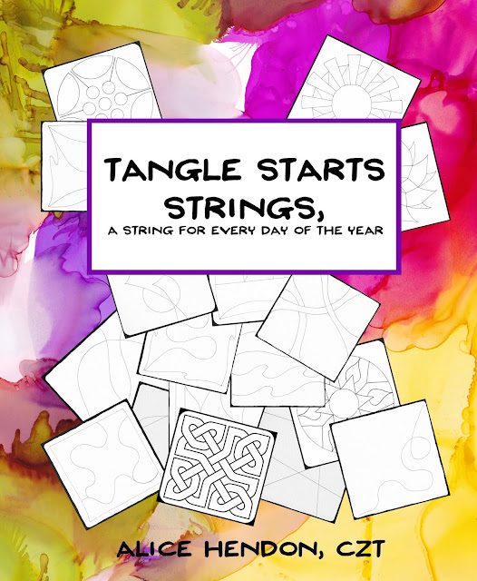 Tangle Starts Strings available on Amazon.com Alice Hendon