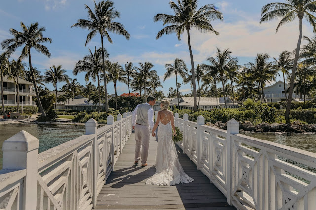 South seas resort t dock wedding
