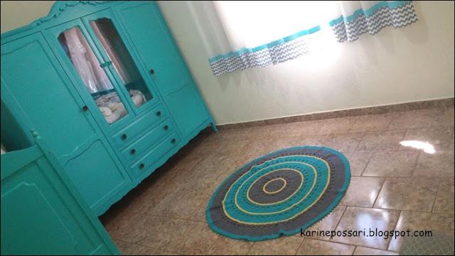 decoração azul tiffany