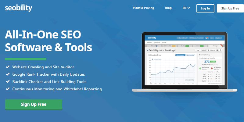 Seobility offers powerful SEO tools