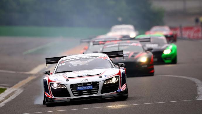 Wallpaper: Audi Racing Cars