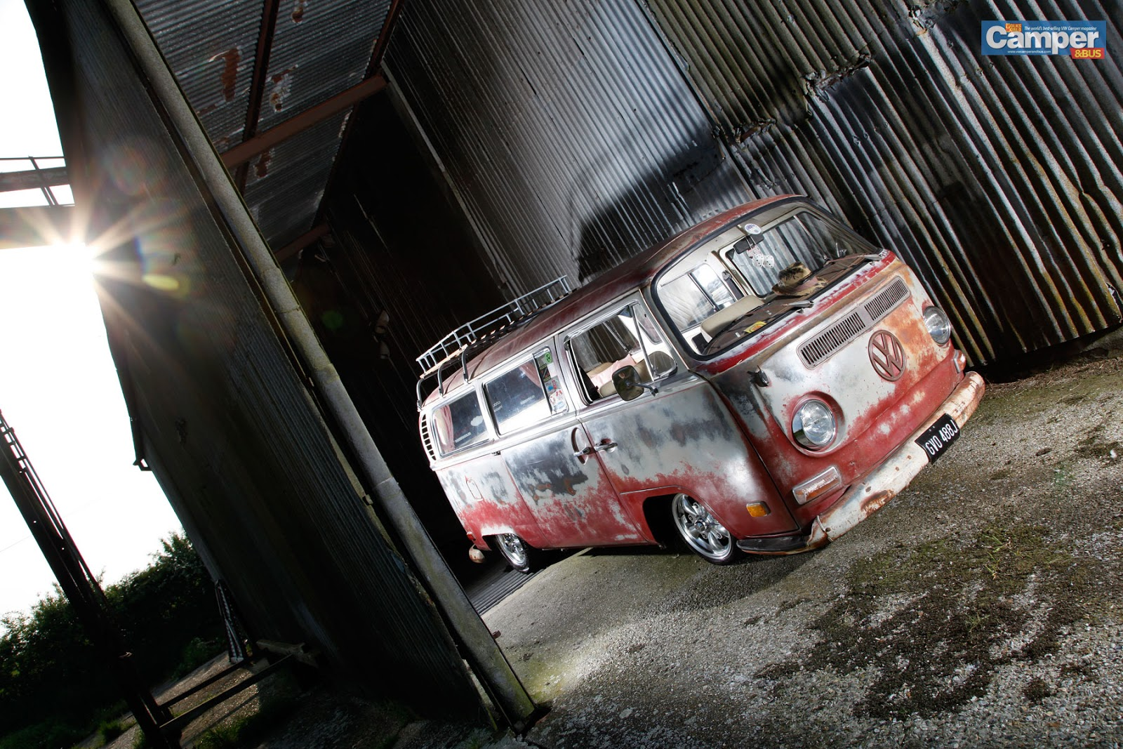 Rusty Bus Wallpaper | vw bus wagon