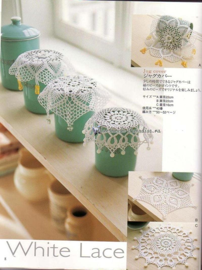 Crochet Lace. Скатерти и салфетки крючком (6)