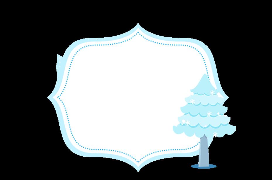 Imágenes para Imprimir Gratis de Frozen Navidad Azul.