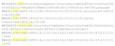 hdl8 - Basics of HCM Data Loader in Fusion