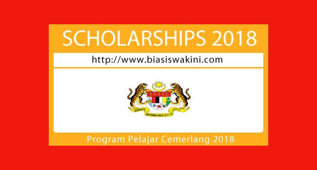Program Pelajar Cemerlang 2018