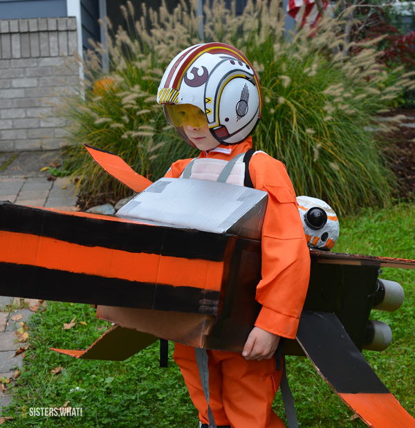 STar Wars X-Wing Fighter Costume with Bb8