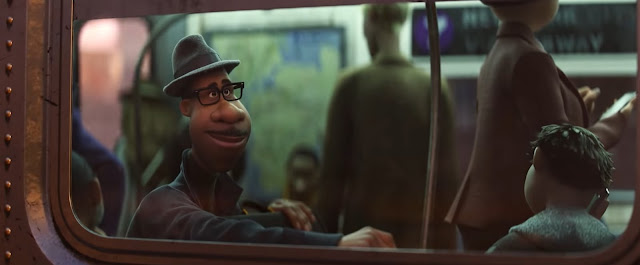 """Pixar's """"Soul"""" New Official Trailer, In Disney and Pixar's """"Soul,"""" a middle-school band teacher named Joe finds himself in The Great Before—a fantastical place where new souls get their personalities, quirks and interests before they go to Earth. Determined to return to his life, Joe teams up with a precocious soul, 22, to show her what's great about living. Featuring Tina Fey as the voice of 22, and Jamie Foxx as the voice of Joe Gardner, """"Soul"""" opens in U.S. theaters on June 19, 2020"""