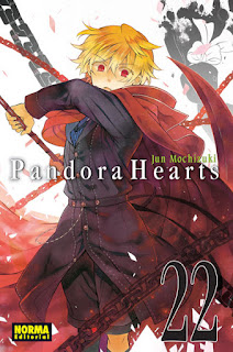 PANDORA HEARTS 22  Manga de Jun Mochizuki Reseña de Pandora Hearts 22 desde Norma editorial pandora hearts en la wikipedia