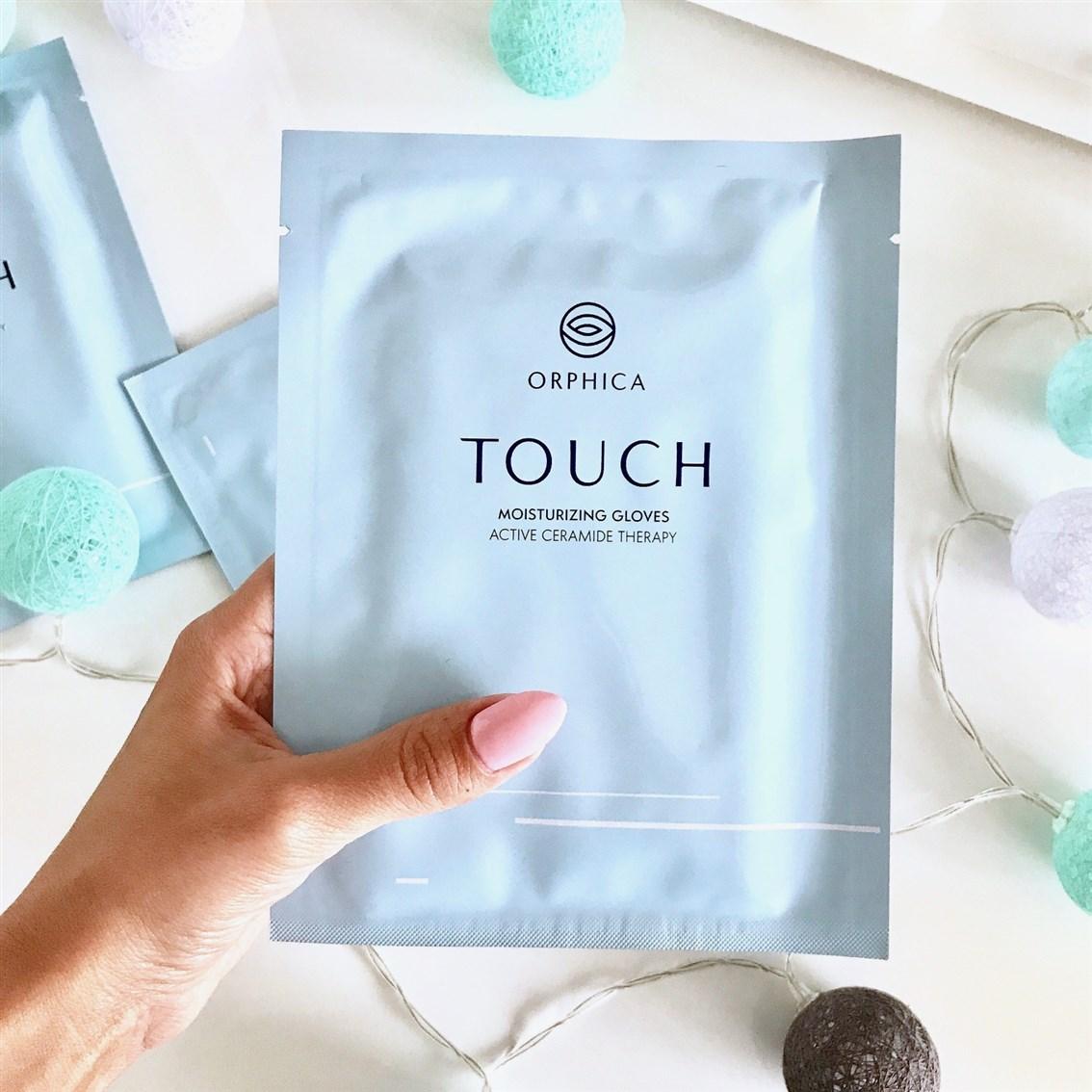 rękawiczki nawilżające do rąk, Orphica Touch rękawiczki, SPA dłoni
