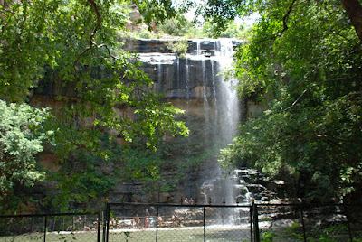 Pochera Waterfalls in Adilabad District in Telangana