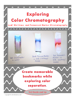 https://www.teacherspayteachers.com/Product/Leaf-and-Marker-Chromatography-Experiments-Exploring-Colors-1496952