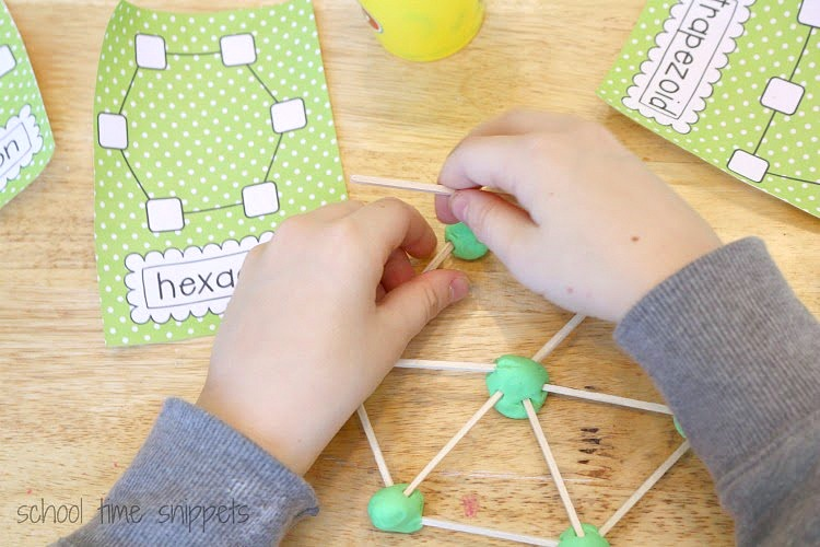 geometric shapes activity for kids