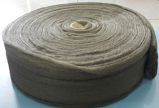 Bùi nhùi sợi thép 0000# x 2,5kg/cuộn