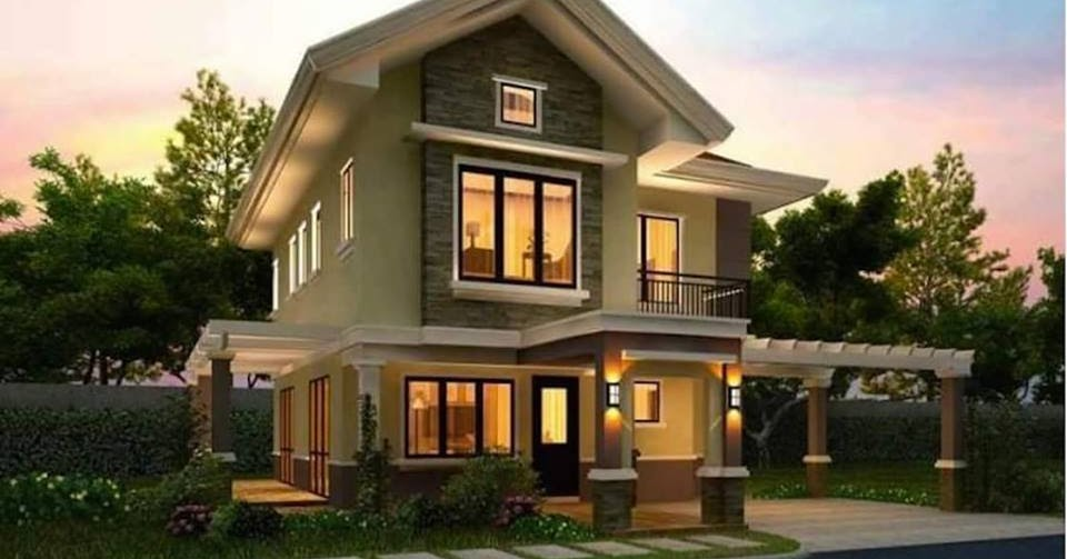 20 Images Of Beautiful Two Story Houses