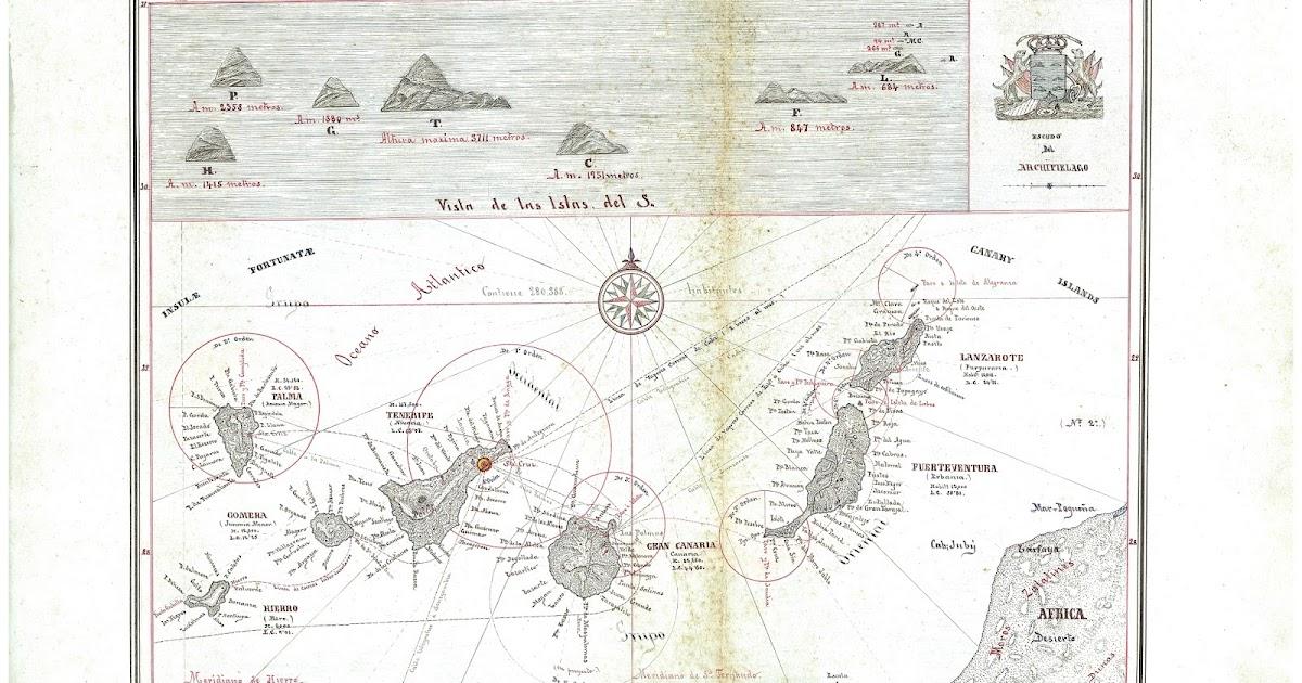 Canarias a travs de la cartografa
