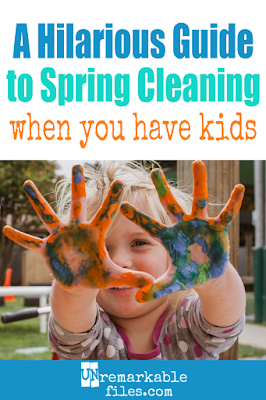 Finally, an article about spring cleaning for perfectly average moms like me. This spring cleaning humor is a step-by-step guide cataloging all the thoughts moms have while spring cleaning – or at least attempting to spring clean, before they realize the house will be a disaster until the kids turn 18 and give up. If you'd rather be laughing than mopping, read this. #springcleaninghumor #momlife