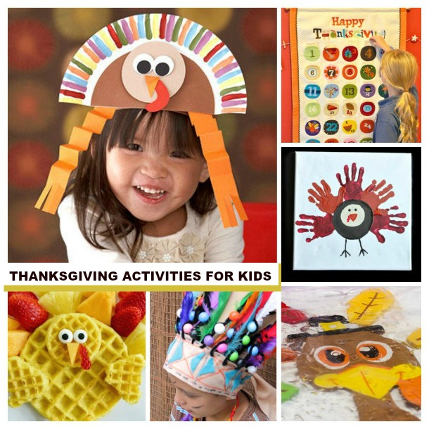 TONS OF THANKSGIVING ACTIVITIES FOR KIDS!  Games, crafts, and more! #thanksgiving #thanksgivingcrafts #thanksgivingcraftsforkids #thanksgivingcraftsfortoddlers #thanksgivingactivities #thanksgivingactivitiesforkids