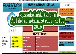 Aplikasi Administrasi Kelas Terbaru 2016